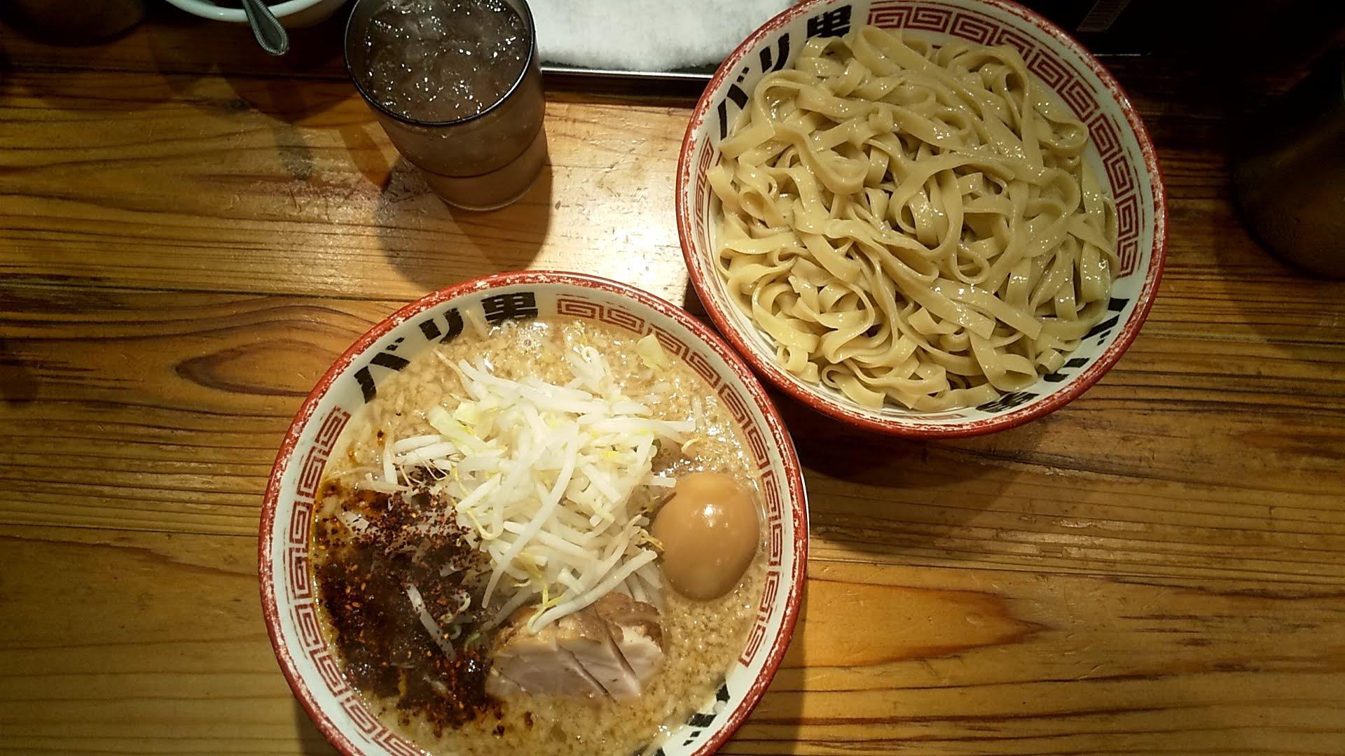 バリ男日本橋店のつけ麺