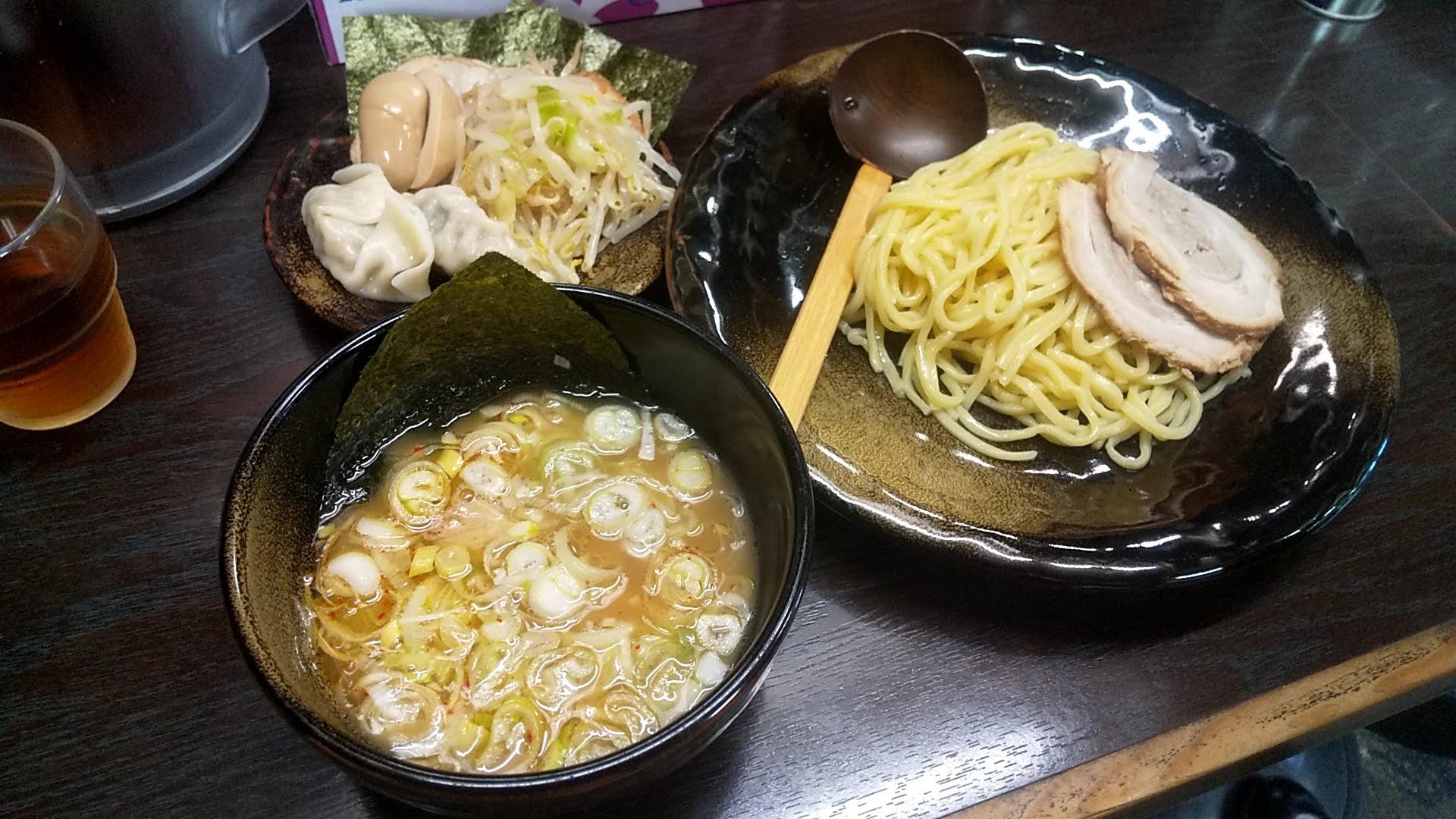 つけ麺隅田の全部のせ醤油つけ麺