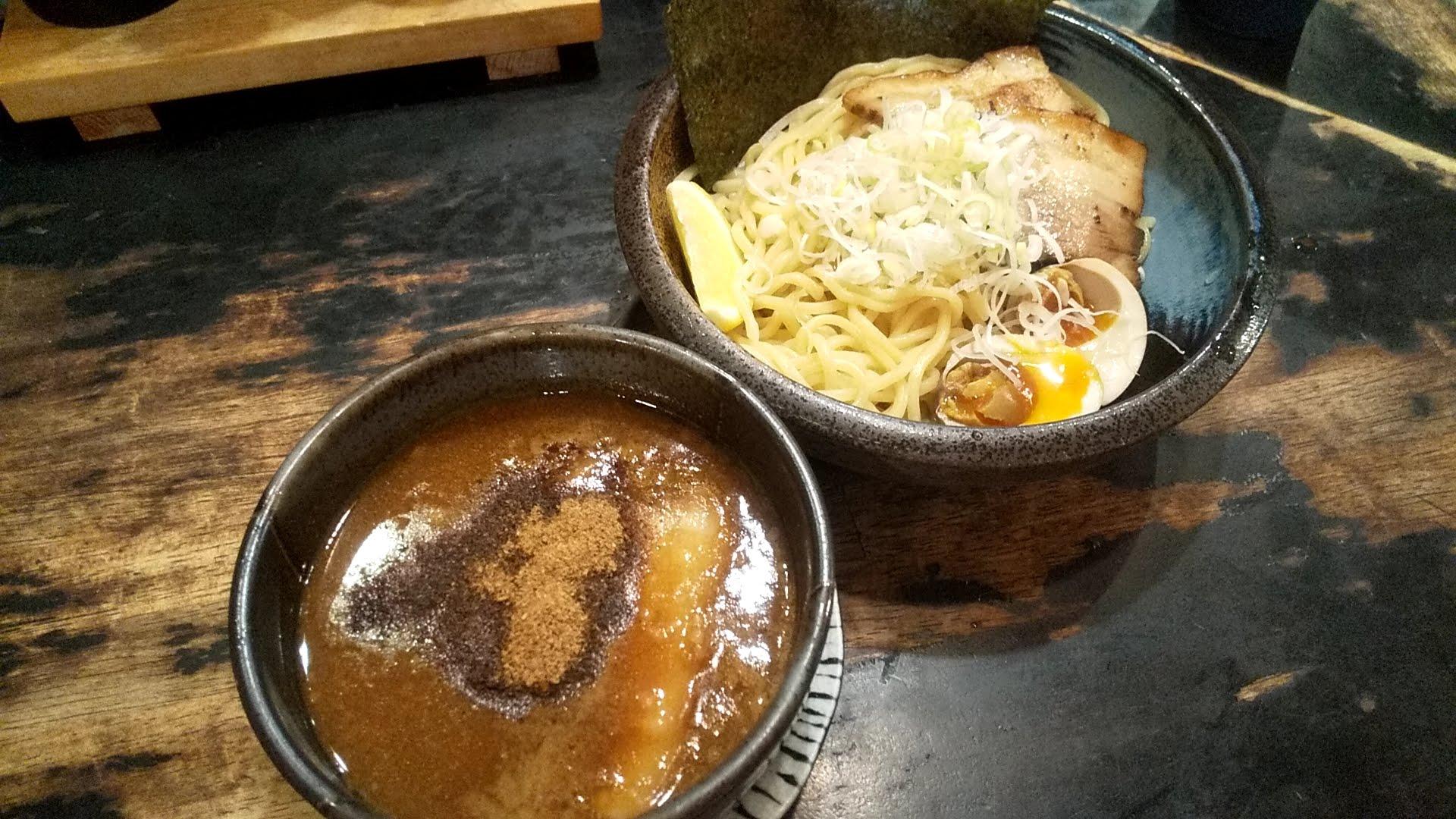 戸みら伊本舗の特製つけ麺