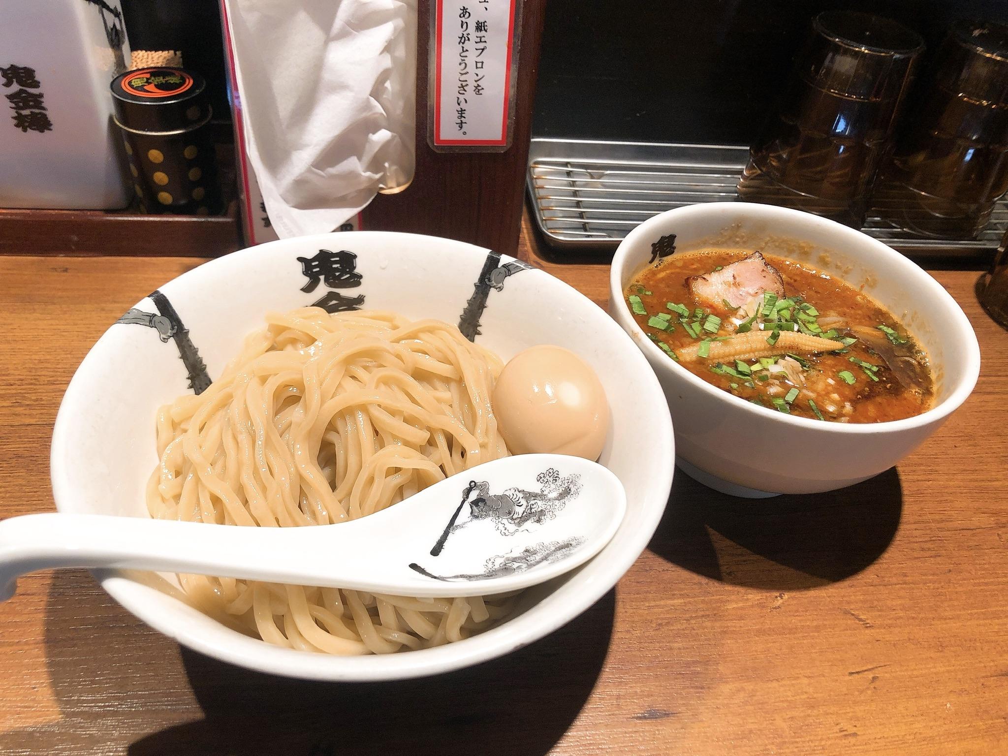 鬼金棒のつけ麺