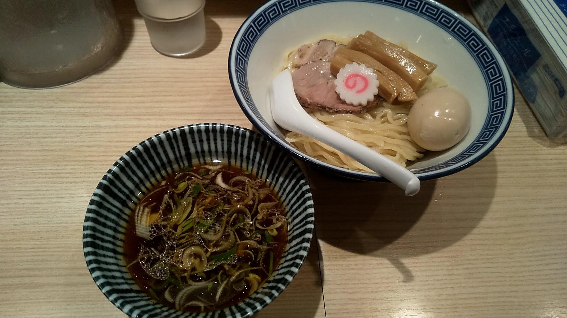 竹むらの特製つけ麺