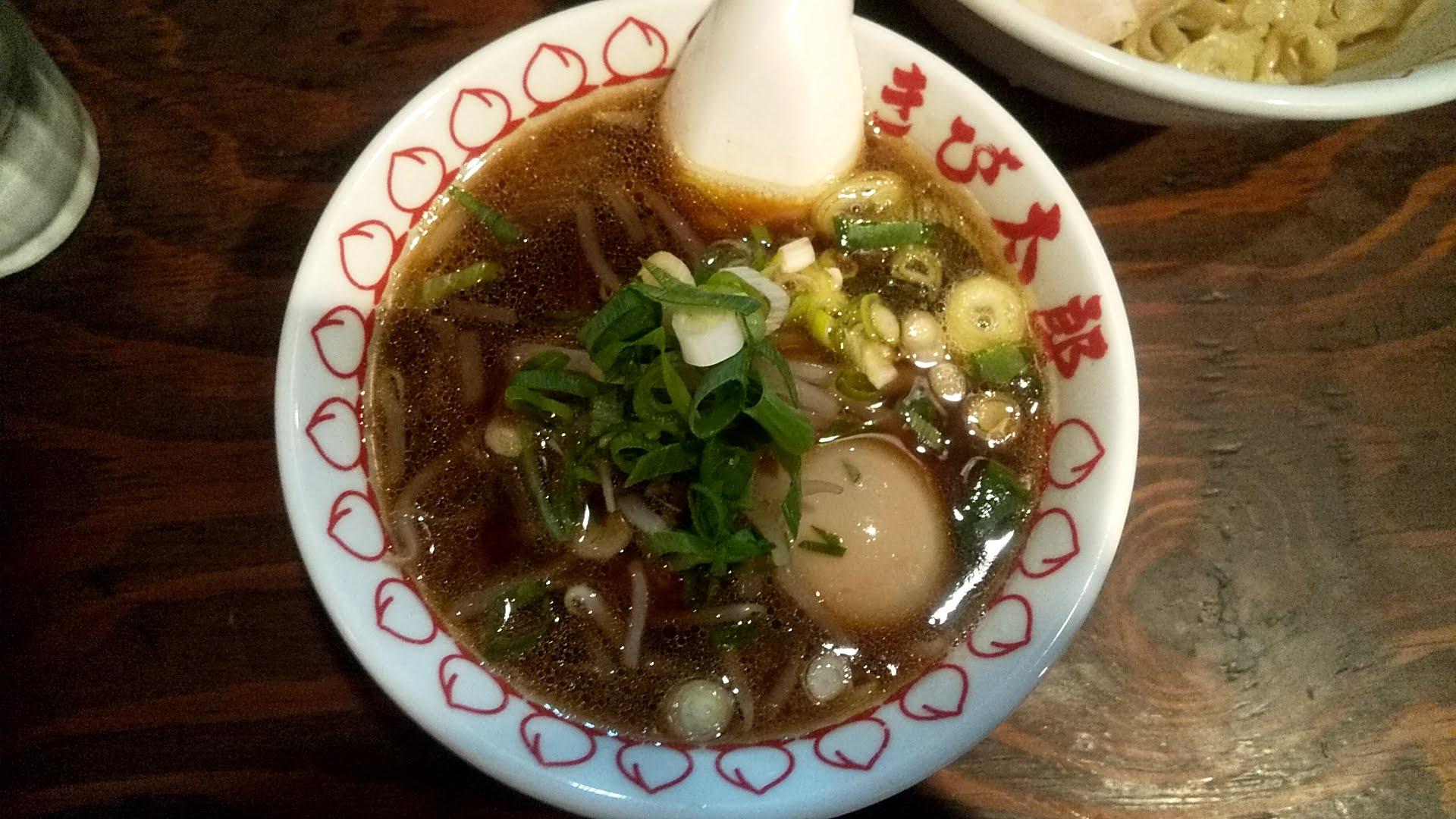 きび太郎の全部のせ南蛮つけ麺のつけ汁