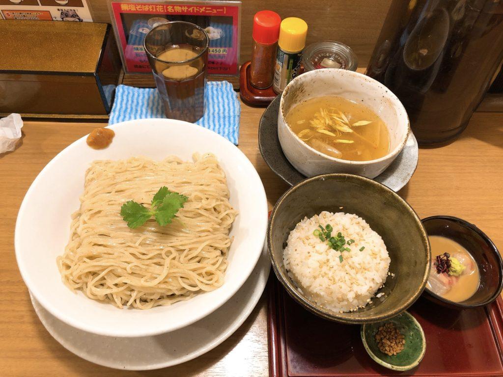灯花のつけ麺