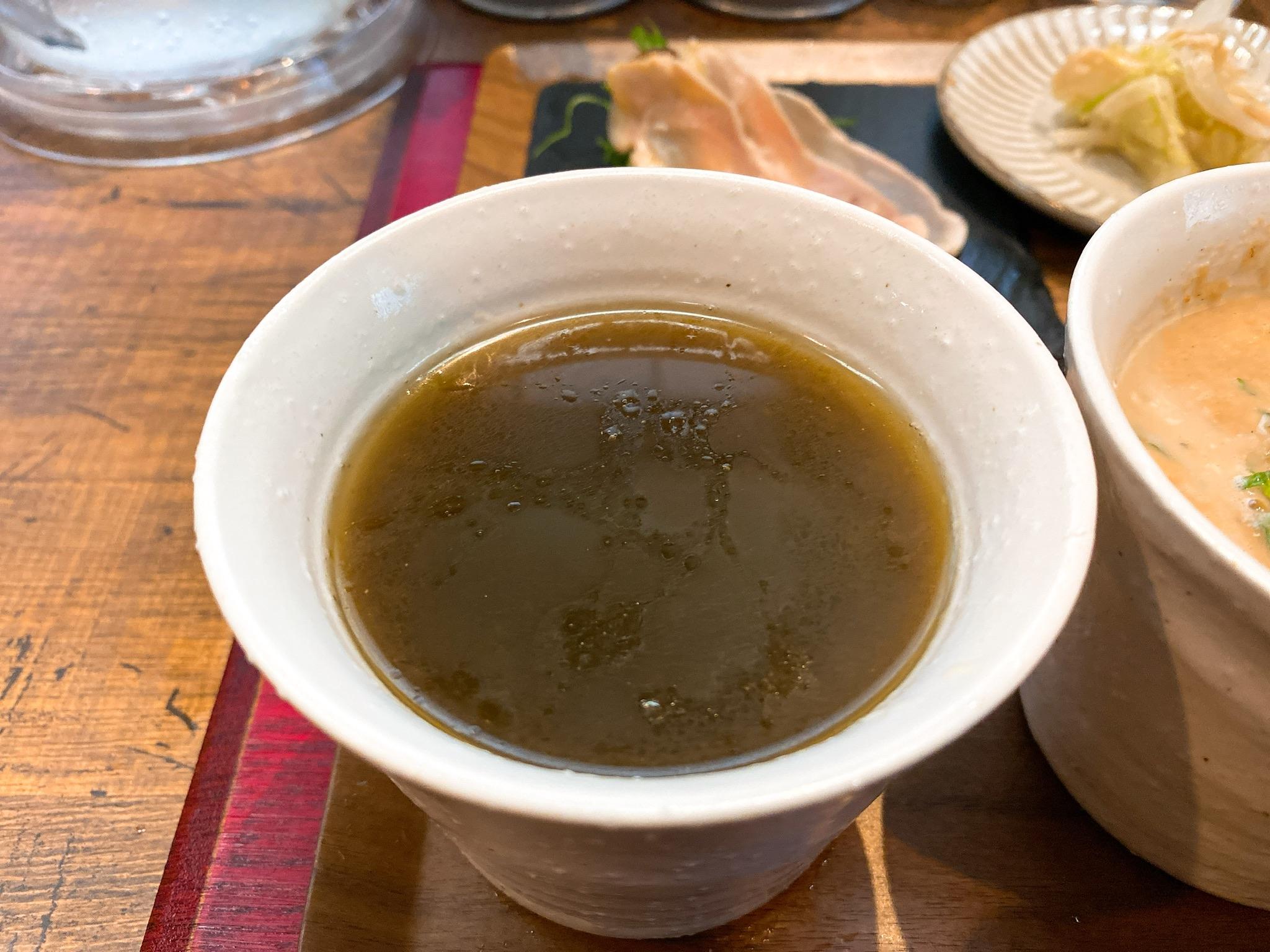 黒須の冷汁のスープ写真