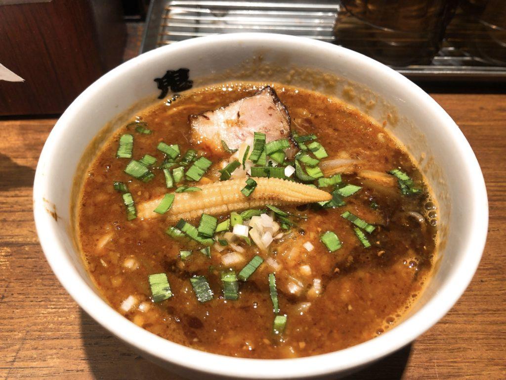 鬼金棒のスープ