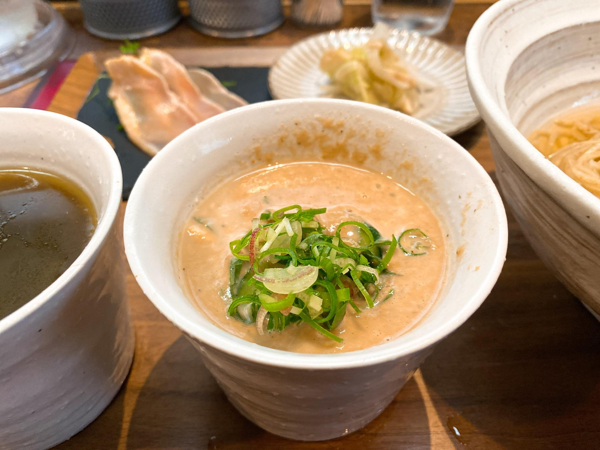 黒須の冷汁の別のスープ写真
