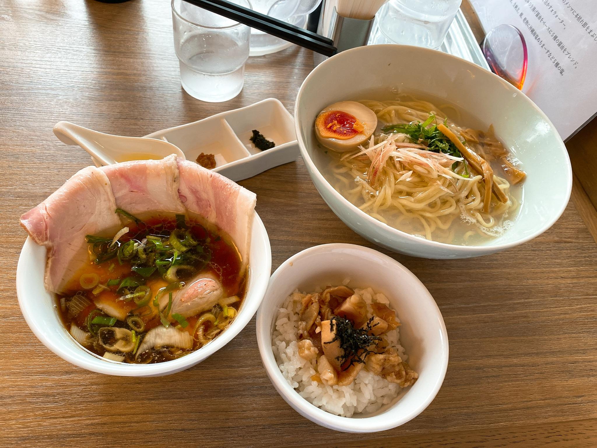和渦Tokyoのつけ麺