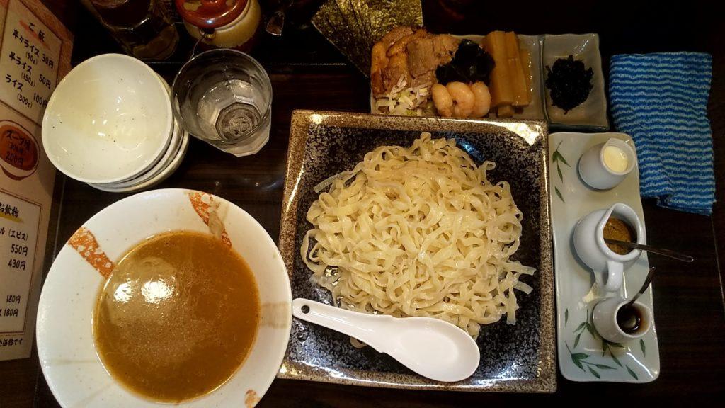 麺屋優創のつけ麺
