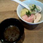 メンヤシモヤマの昆布水つけ麺
