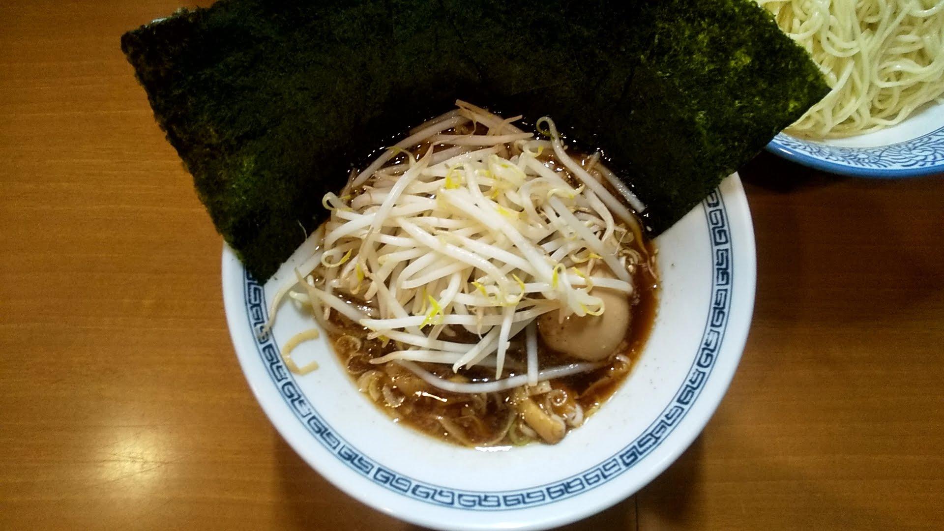 中華そばばんやの細つけ麺のつけ汁