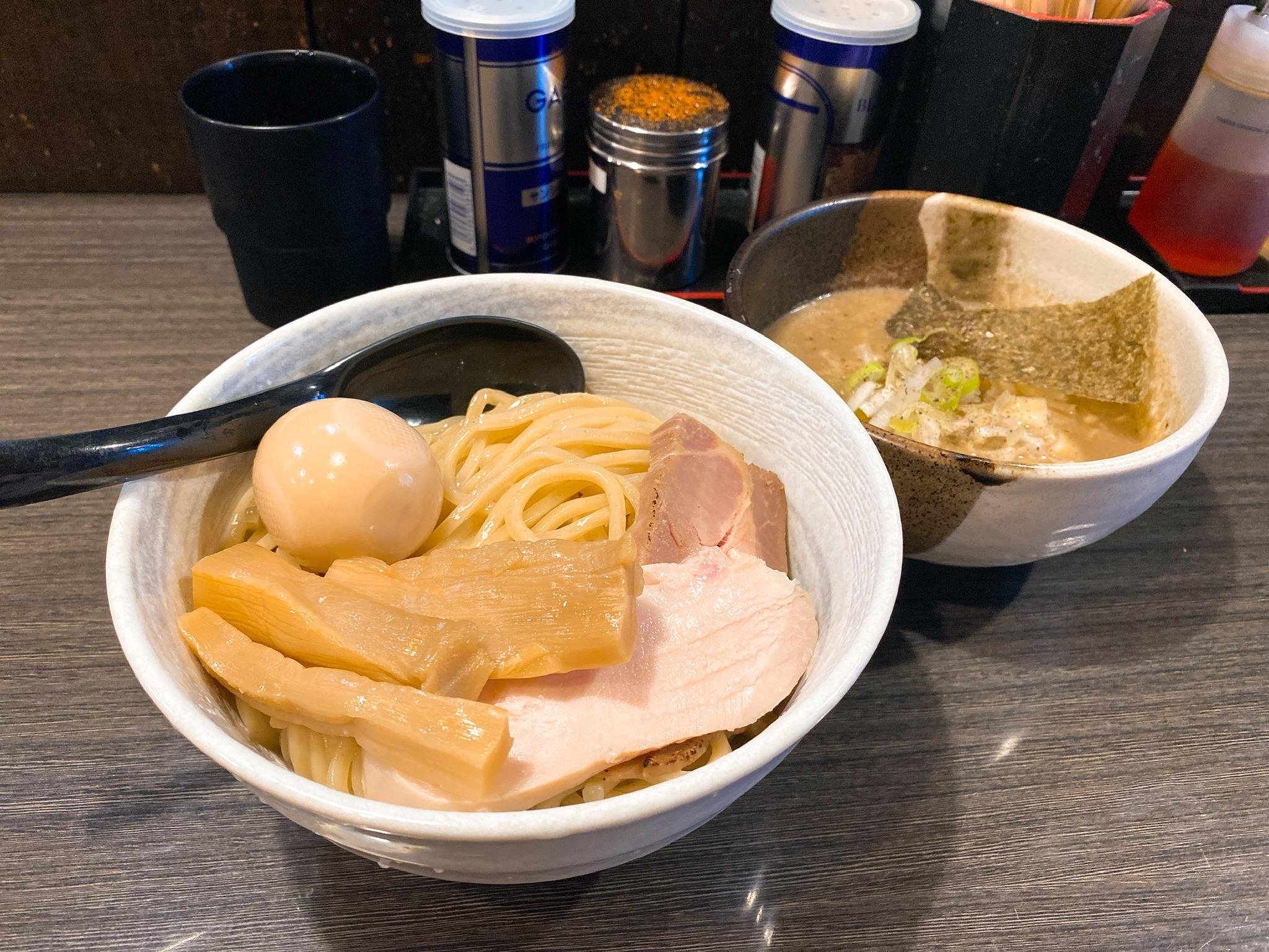 つけ麺陽の鶏と帆立の濃厚塩つけ麺の写真