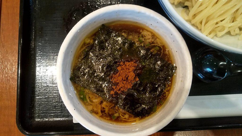 麺処直久錦糸町店の鶏×魚介つけ麺のつけ汁