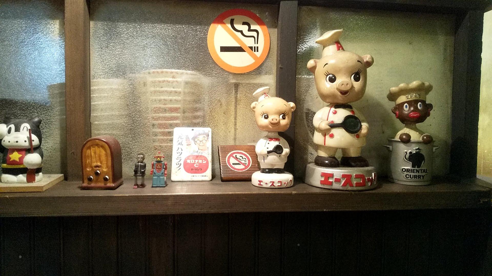 ヨシベーラーメンの店内の景色