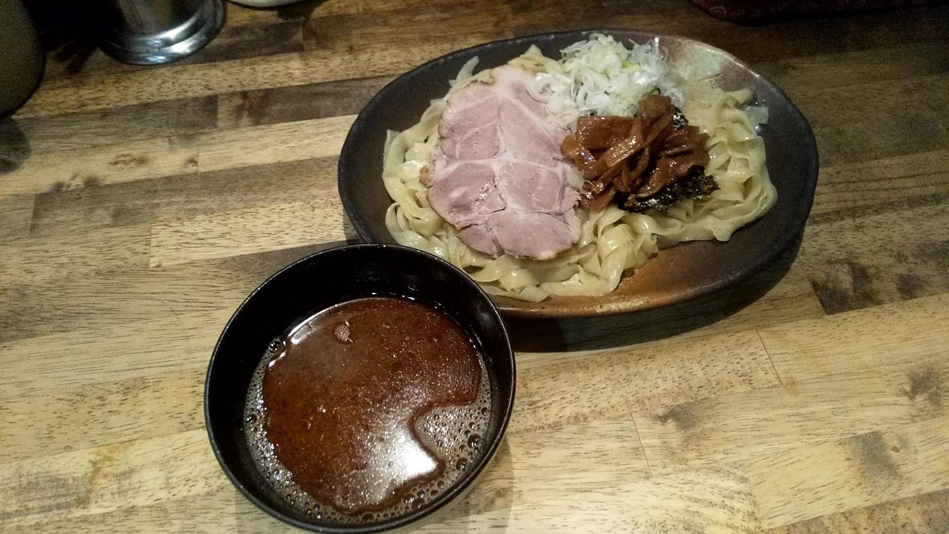 ヨシベーラーメンのつけ麺