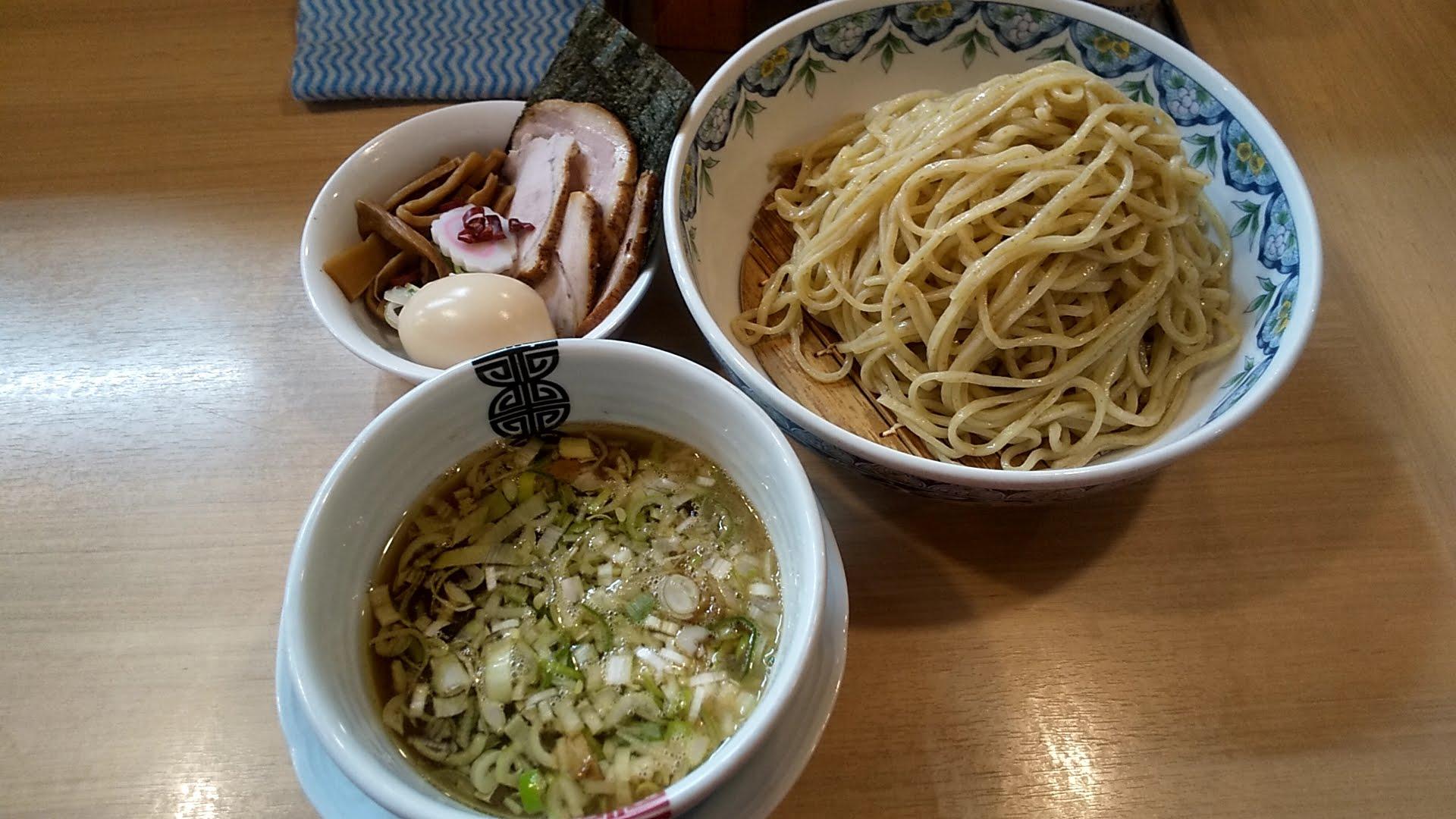 多賀野の特製つけ麺の写真