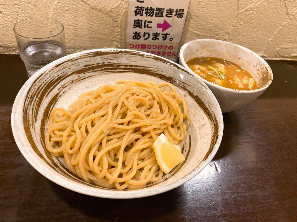 づゅる麺池田のつけ麺