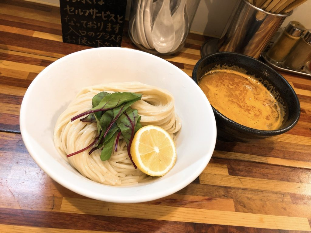 五ノ神水産のつけ麺