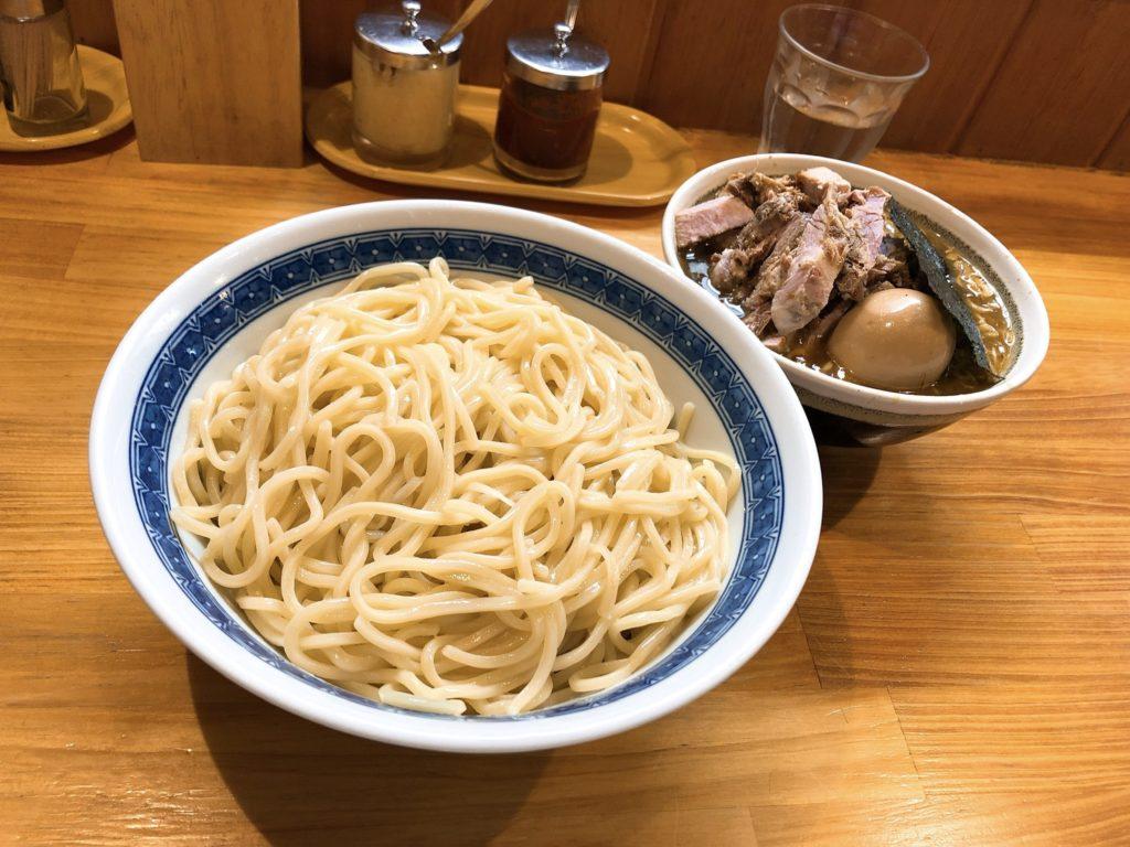自家製中華そばとしおかのつけ麺