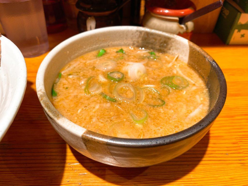 せきやけのスープ