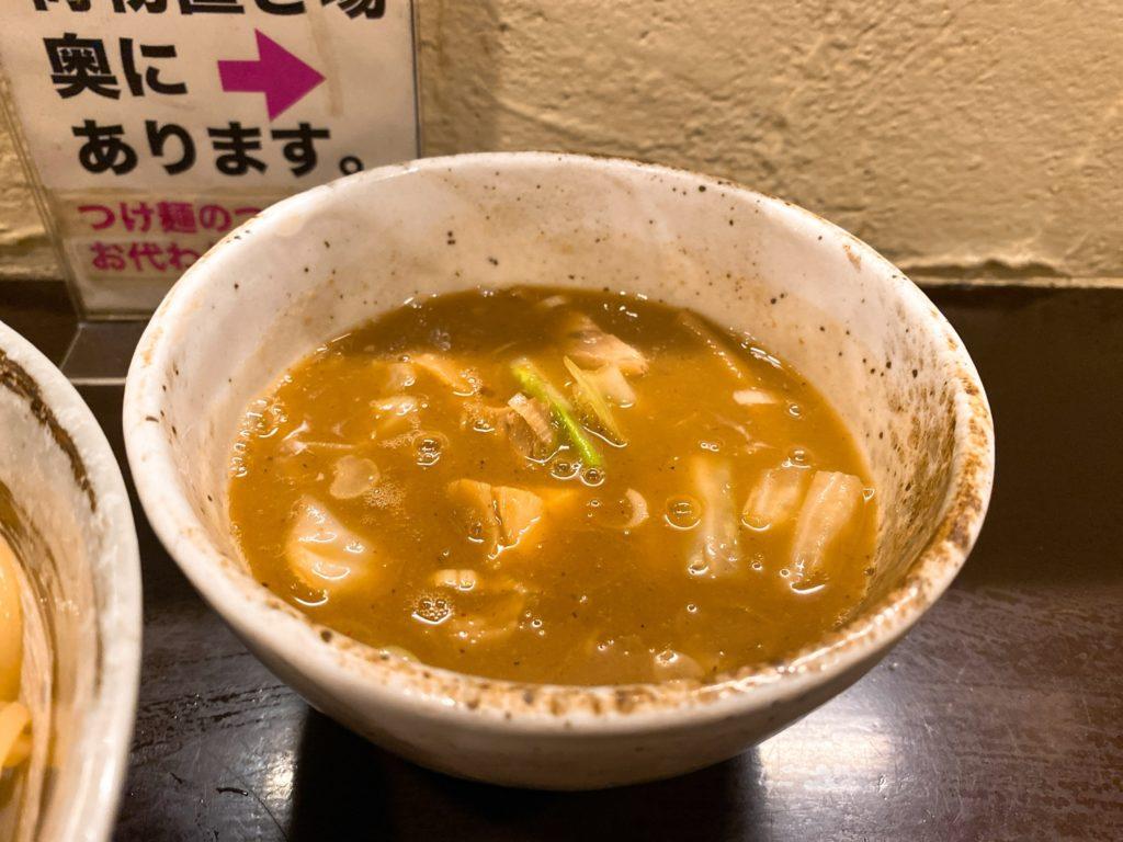 づゅる麺池田のスープ
