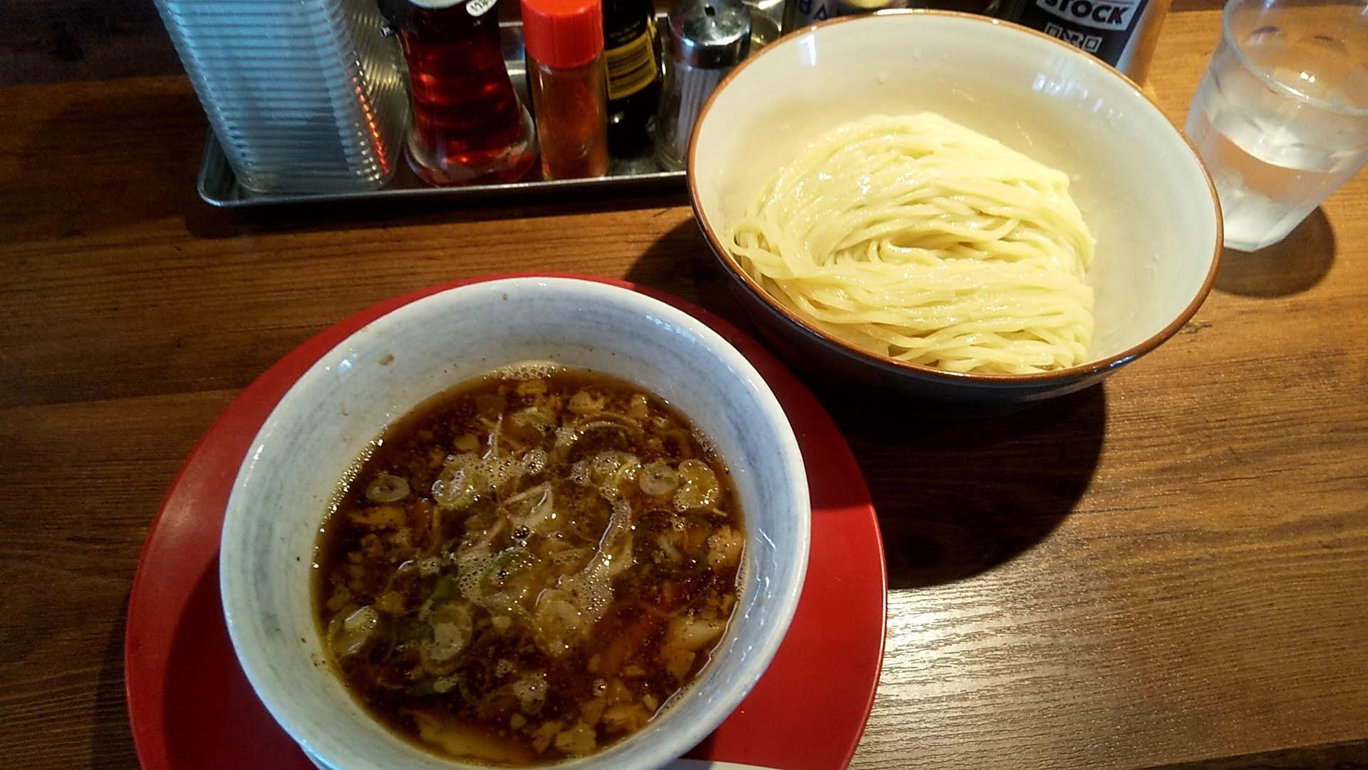 さいころのつけ麺の写真