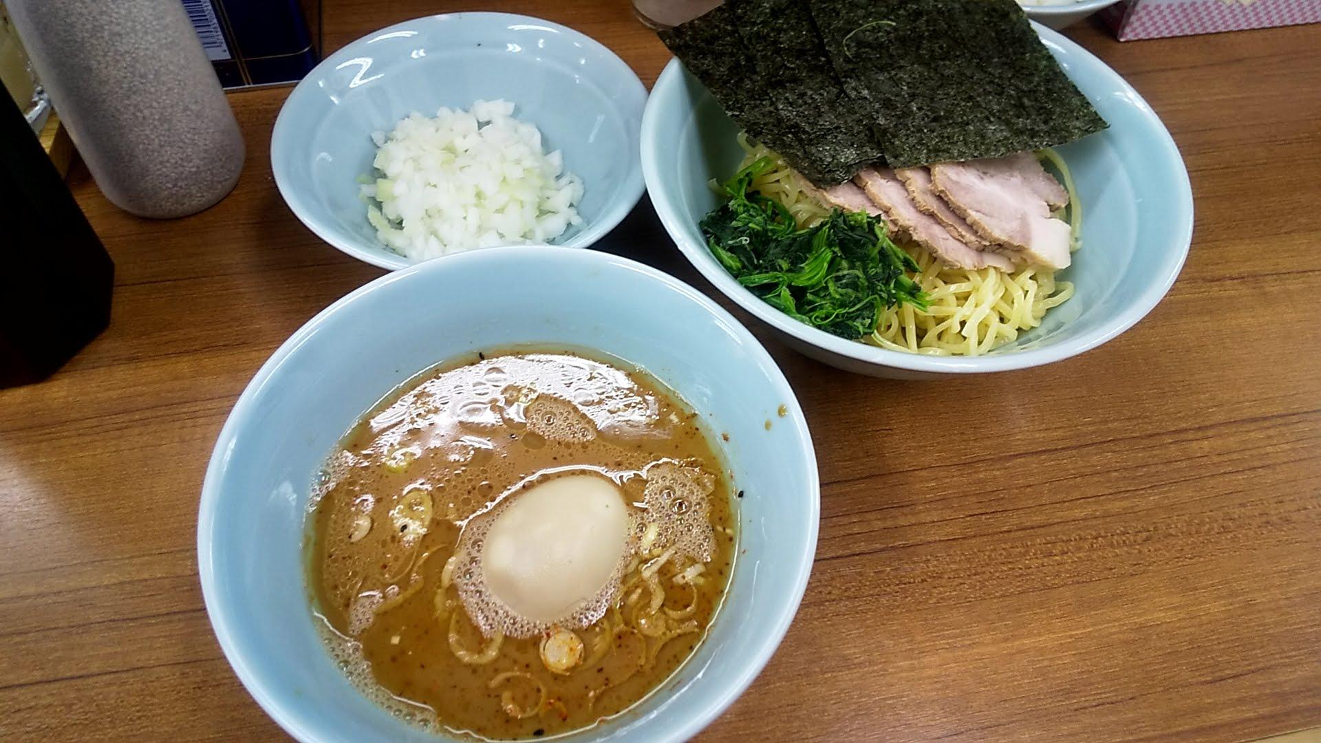 武蔵家北千住店の特製つけ麺