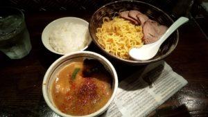天虎のつけ麺チャーシューの写真