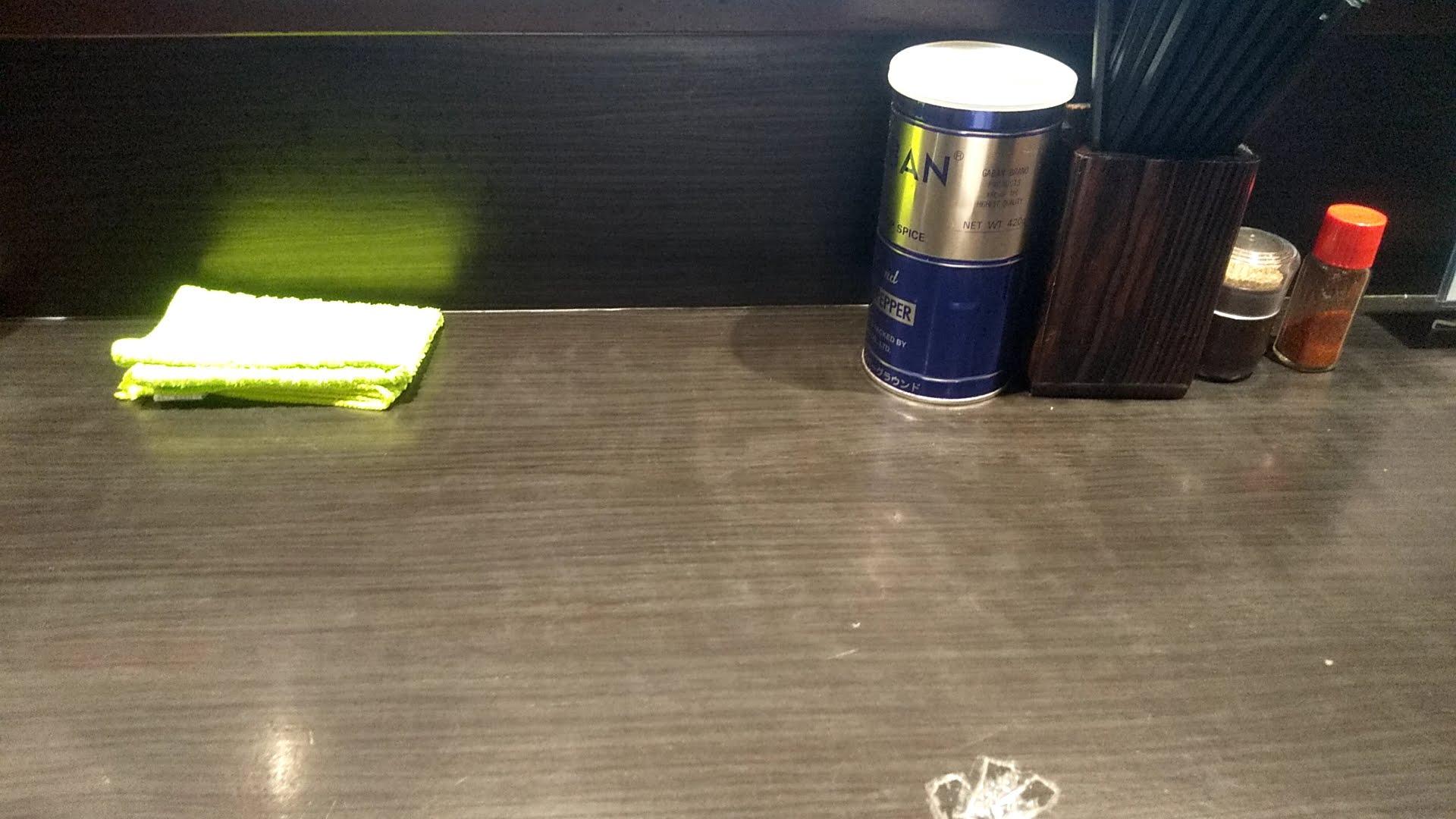 伊藤銀座店の卓上の写真