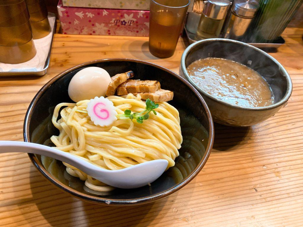 銀座朧月のつけ麺