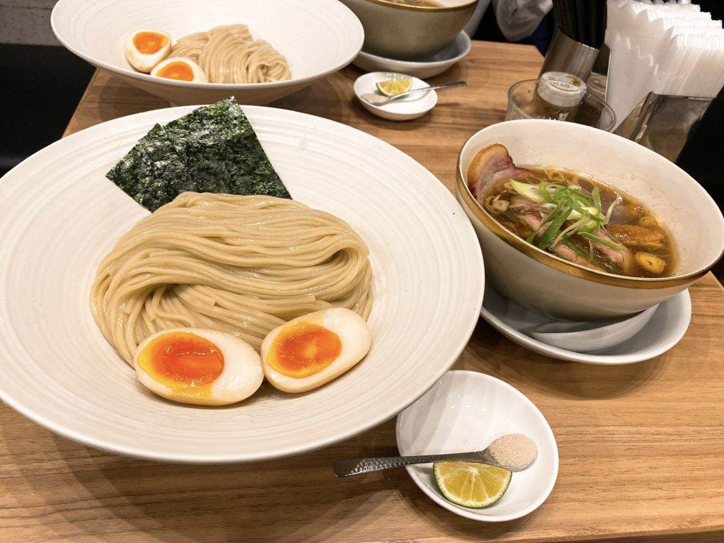麺処ほん田のつけ麺