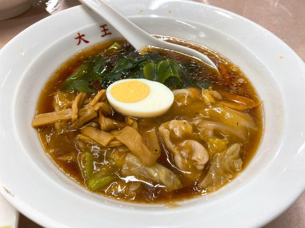 元祖中華つけ麺大王のスープ