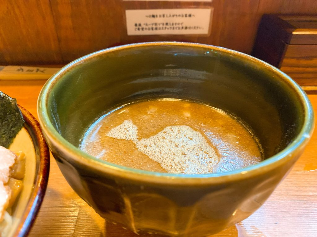 麺屋清水のスープ