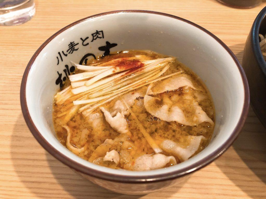 小麦と肉桃の木のスープ