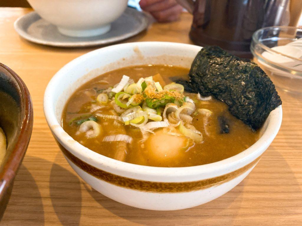 三豊麺のスープ