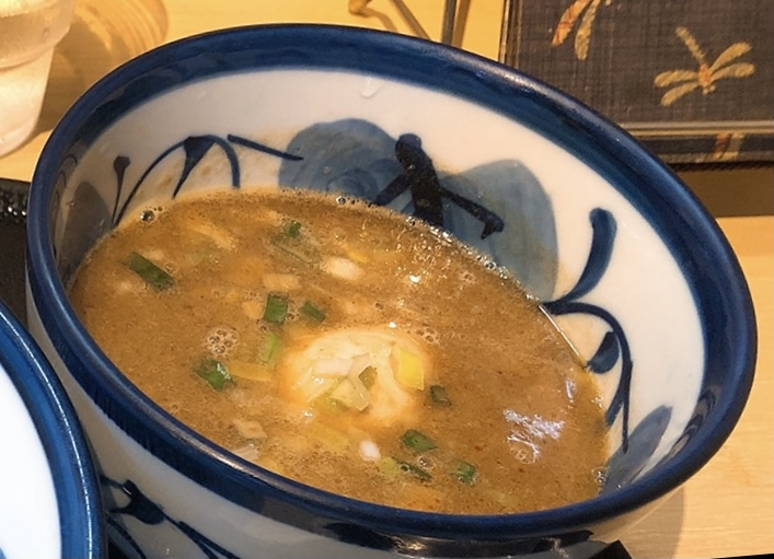 つけ麺たけもとのスープ