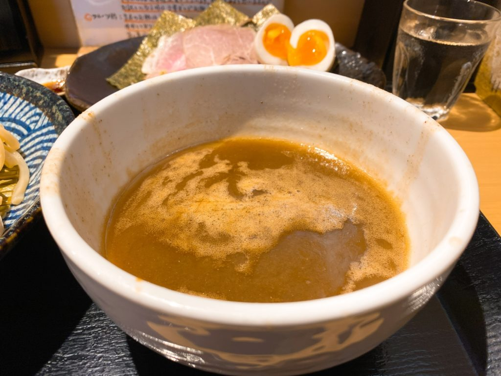 つけ麺道のスープ