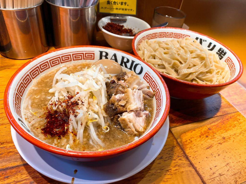 バリ男のつけ麺