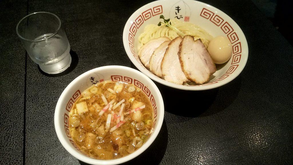 中華そばきびの特製つけ麺
