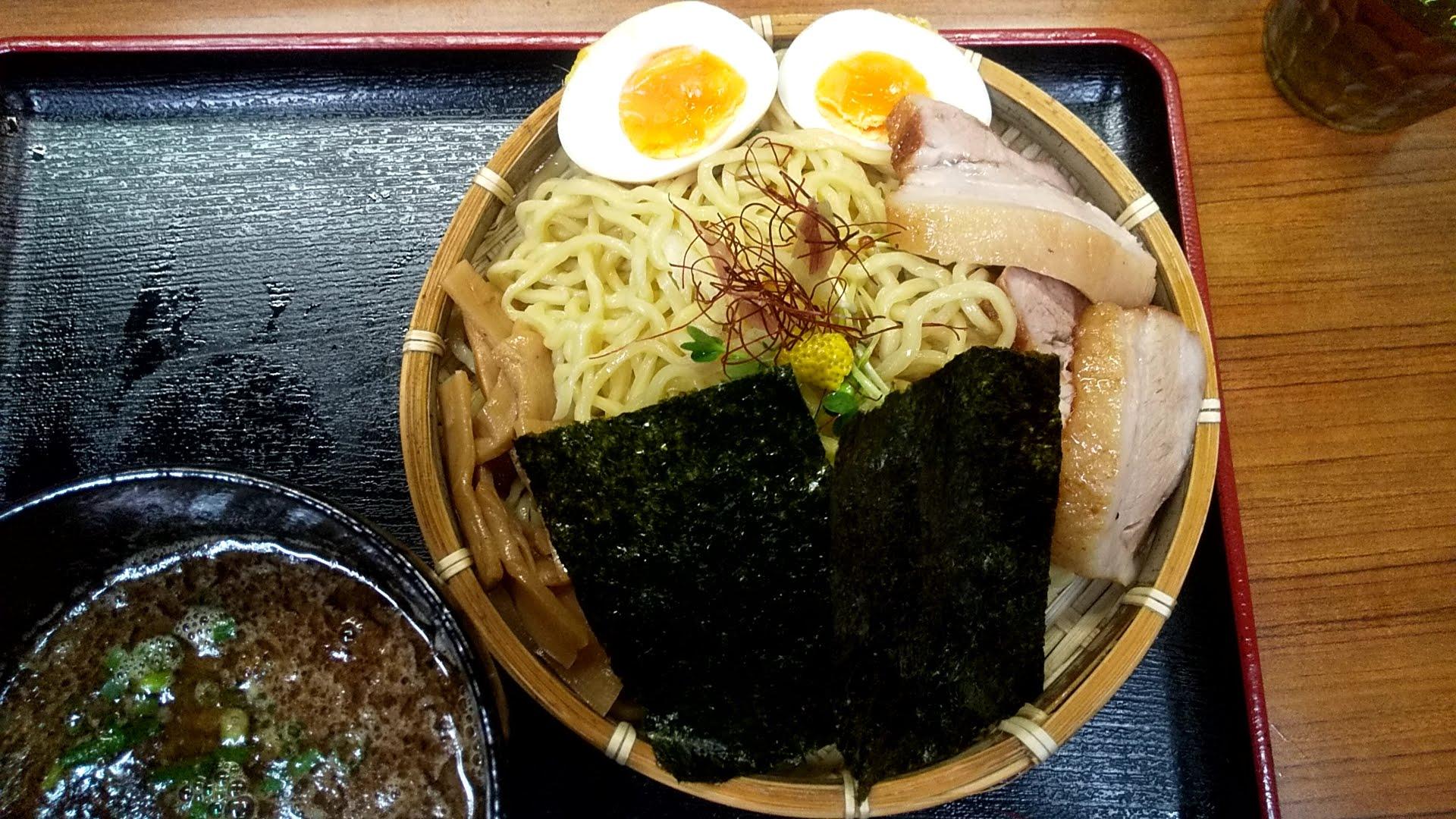 宣のつけ麺の麺皿の写真