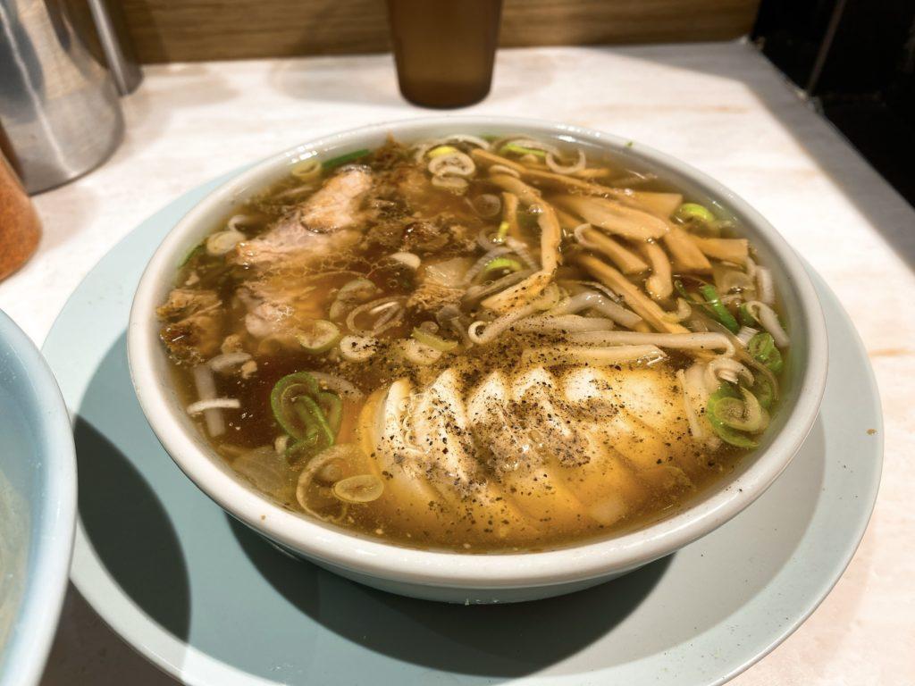 ちえちゃんラーメンのスープ