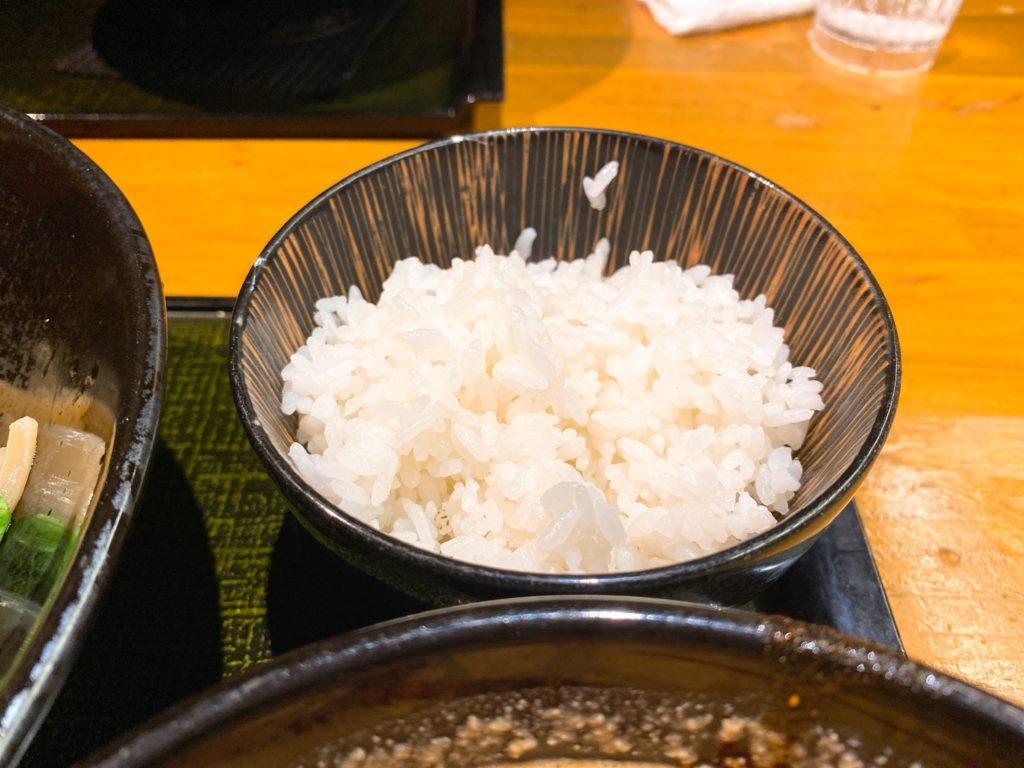麺匠竹虎のライス