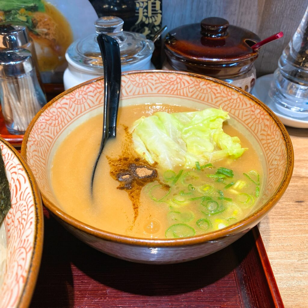 鶏そば かぐら屋のスープ