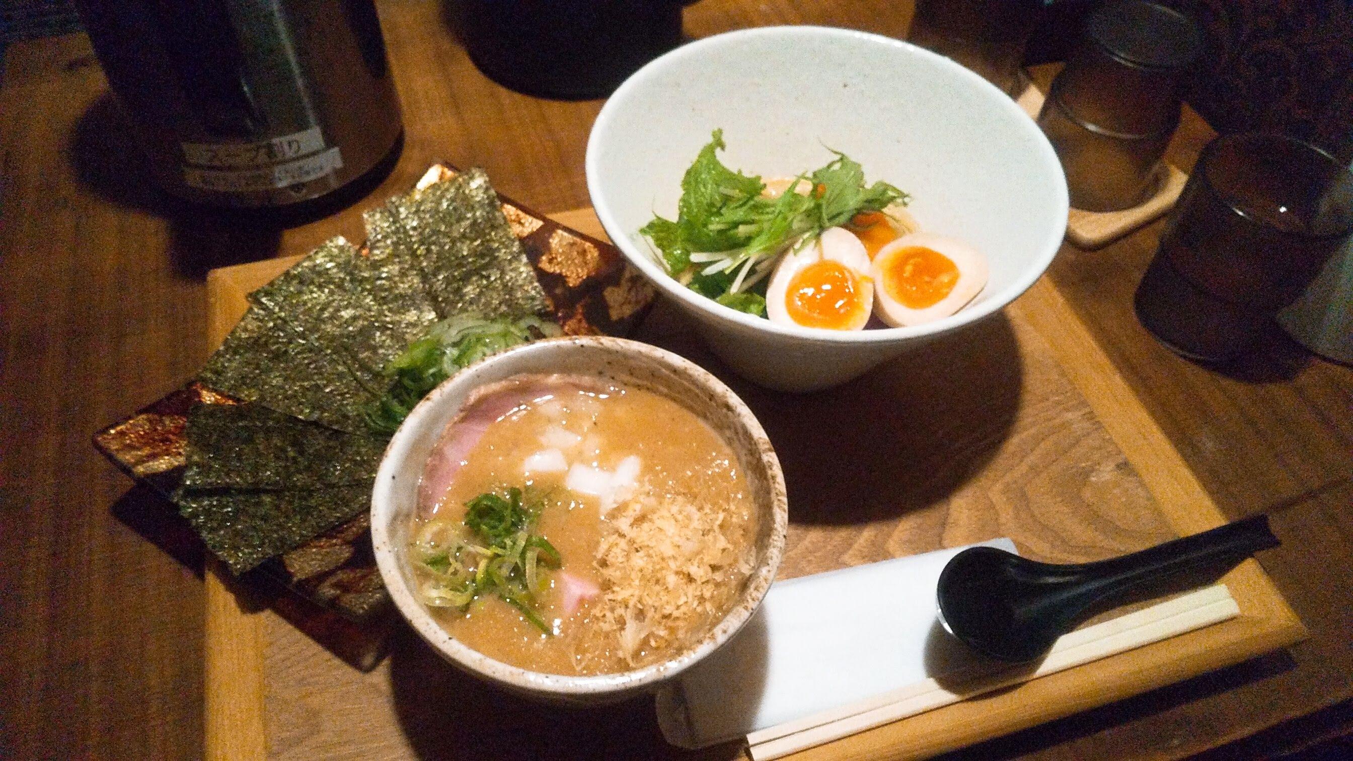 竹川の無添加つけ麺の写真
