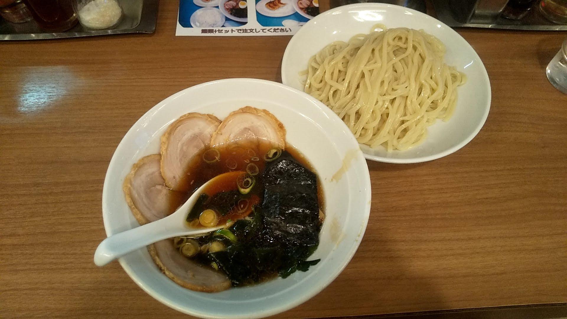 風神のつけ麺の写真