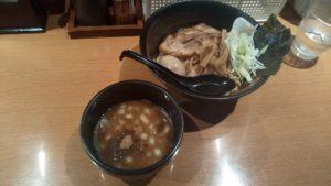 炙りの特製つけ麺の写真