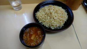 十八番のつけ麺の写真