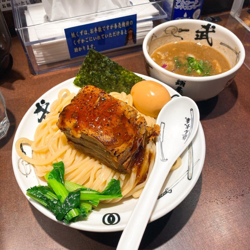 麺屋武蔵武仁のつけ麺