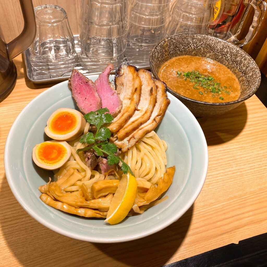 MENSHO TOKYOのつけ麺