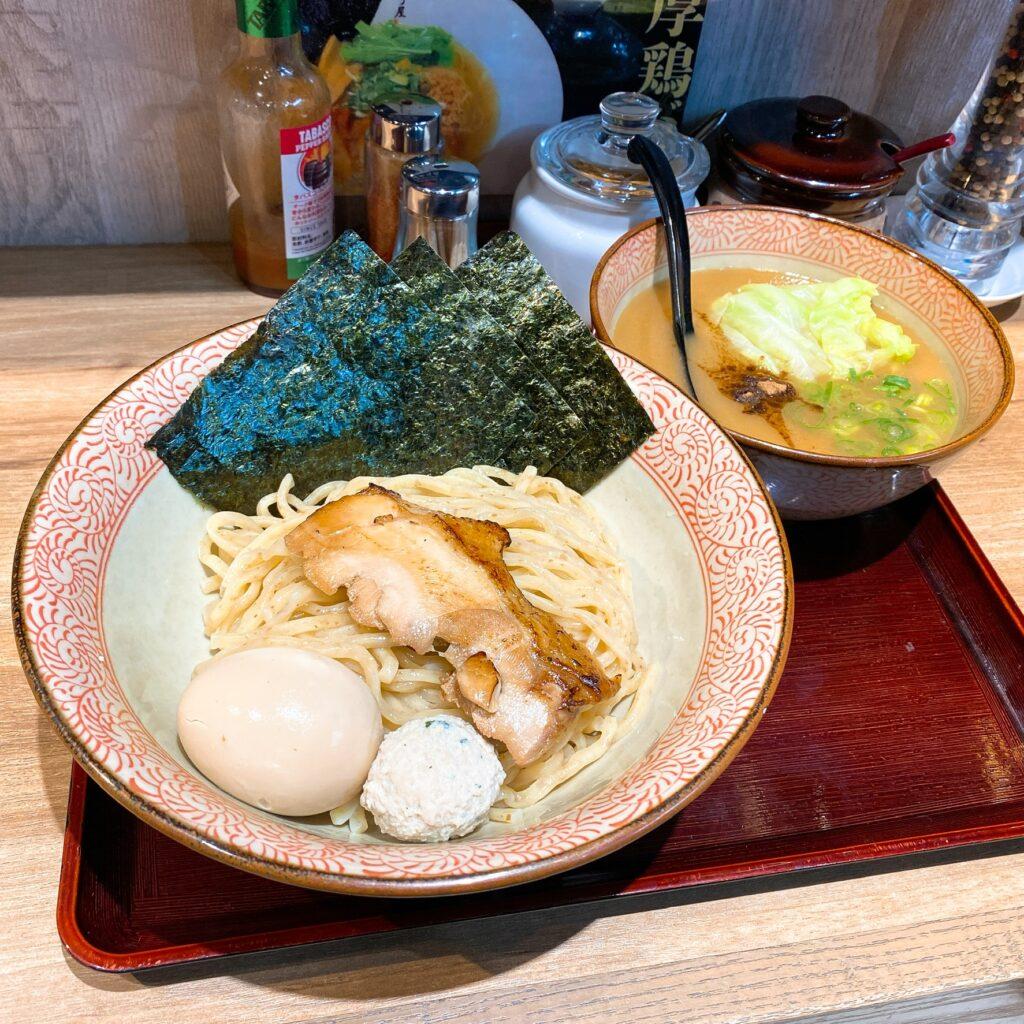 鶏そば かぐら屋のつけ麺