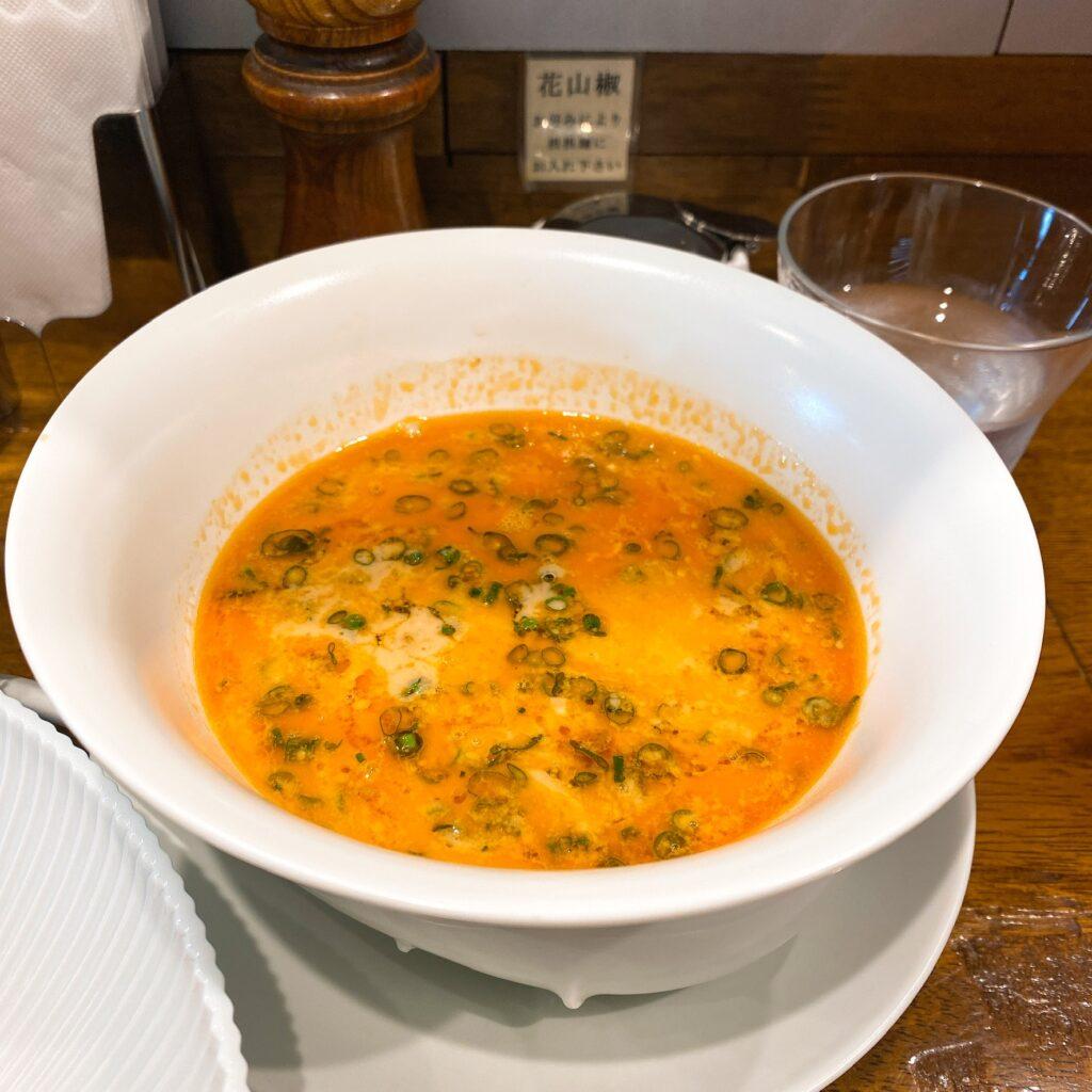 創作麺工房鳴龍のスープ